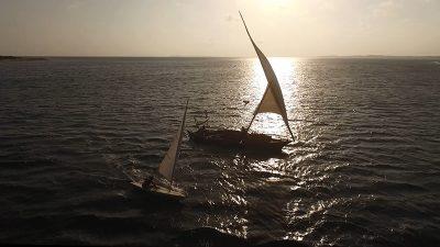 регата яхта швертбот